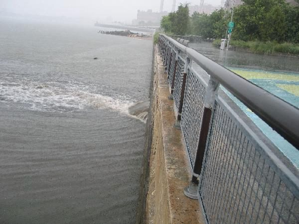 Stormwater in East River