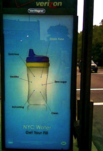 Delicious, Refreshing... NYC Water!