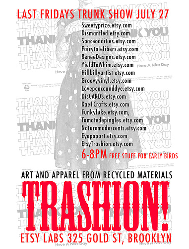 Trashion: Etsy's Recycled Fashion Show