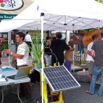 Solar One, Sustainable Flatbush, Brooklyn Compost Project and Educating Tomorrow at work