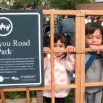 Cortelyou Rd. Park: kid-friendly lattice