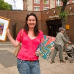 Cortelyou Rd. Park: initial works-of-art from F.A.S.T. artists sold!