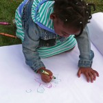 Cortelyou Rd. Park: drawing a work of art