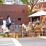 Cortelyou Rd. Park: late in the day