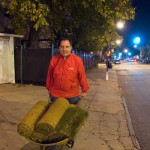 Cortelyou Rd. Park: delivering sod to its new owner