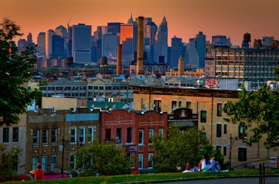 Sunset Park, Brooklyn (photo by Barry Yanowitz)