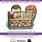 Brooklyn Dirt #4: Monthly Talks on Urban Farming and Gardening