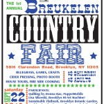 Breukelen Country Fair this Saturday, September 22nd!